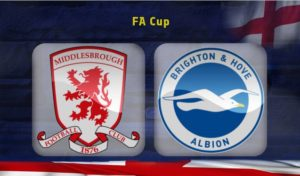 Middlesbrough-Brighton (F.A Cup preview)