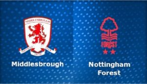 Middlesbrough-Nottingham Forest (preview & bet)