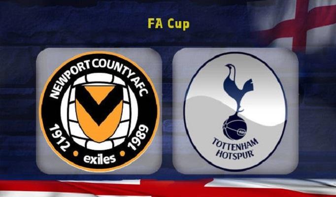 Newport County-Tottenham (F.A Cup preview)