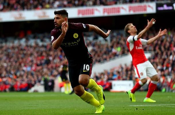 Ο Sergio Aguero σημαδεύει ρεκόρ εναντίον της Arsenal!