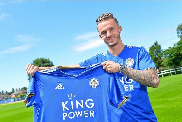 Ο James Maddison είναι πλέον παίκτης της Leicester City